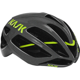 Kask Protone Helm anthracite/green